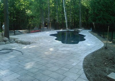 Permacon Mondrian pool deck